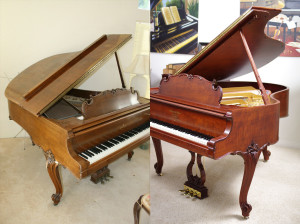 Piano Restoration Cost Fully Restored Steinway & Sons, 1935, Walnut, Louis Scallop Case