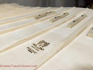 Buldoc soundboard, piano artisans soundboard, soundboard replacement, sound board installation