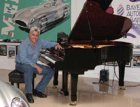 Digital Player Piano System Installed, PianoForce Player System with Jay Leno