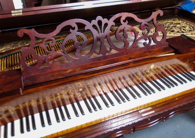 Western PianoForte Square Grand Piano, Rosewood (10 of 16)