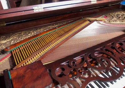 Western PianoForte Square Grand Piano, Rosewood (11 of 16)