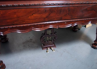 Western PianoForte Square Grand Piano, Rosewood (13 of 16)