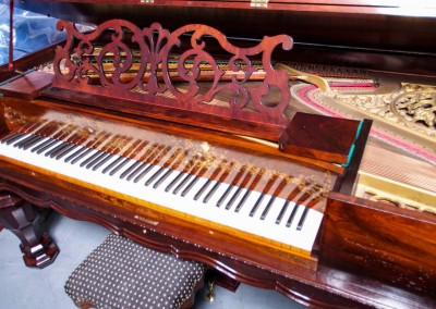 Western PianoForte Square Grand Piano, Rosewood (3 of 16)