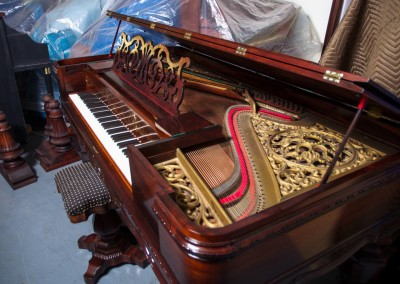Western PianoForte Square Grand Piano, Rosewood (4 of 16)