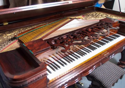 Western PianoForte Square Grand Piano, Rosewood (5 of 16)