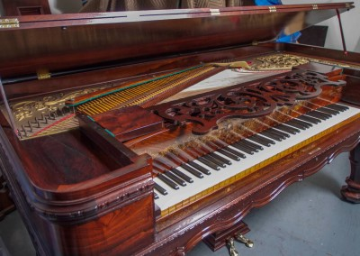 Western PianoForte Square Grand Piano, Rosewood (7 of 16)