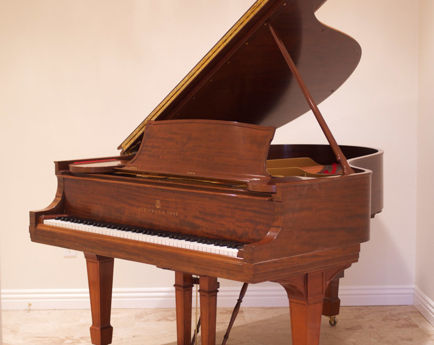 Steinway & Sons, Model S, Honduran Mahogany, 1923, Fully Restored, $14,500