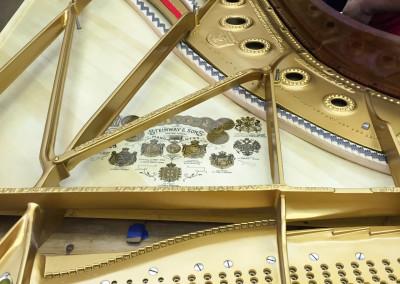 Steinway Model B, 1914's, New Soundboard, New Bridges, Ready for Stringing
