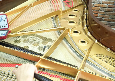Steinway Model B, Mahogany, New Soundboard and Fresh Strings