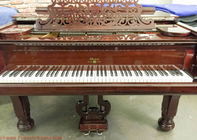 Weber Grand Piano, 1889, Rosewood, High Gloss