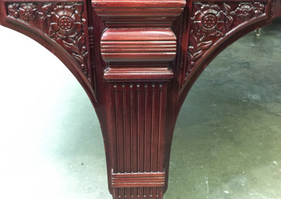 Weber Grand Piano Leg Detail