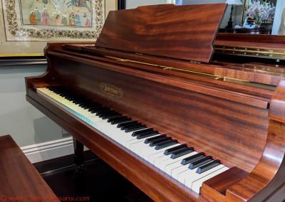 Emerson grand Piano Fallboard