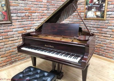 Mason & Hamlin, Mahogany,  Model AA, Parlor Grand, 1923, Fully Restored, $25,499