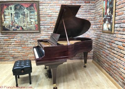 Mason & Hamlin, 1923, Model AA, Mahogany Semi Gloss Finish Varnish-6