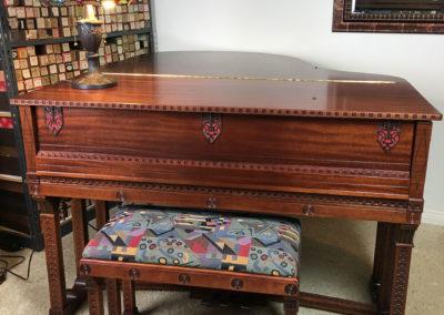 JC Fischer, Grand Piano, Frank Lloyd Wright-2