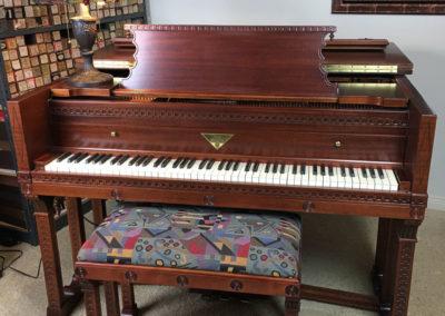 JC Fischer, Grand Piano, Frank Lloyd Wright-4