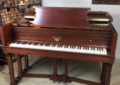 JC Fischer, Grand Piano, Frank Lloyd Wright-6
