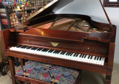 JC Fischer, Grand Piano, Frank Lloyd Wright-7