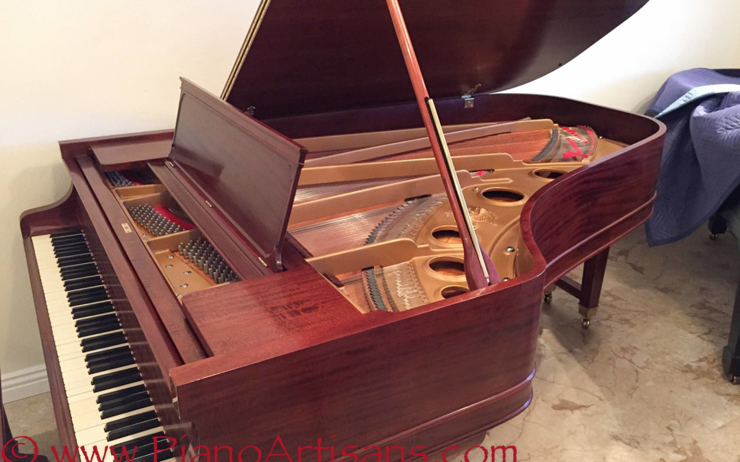 Weber, Conservatory Grand, Mahogany, 1908, Fully Restored