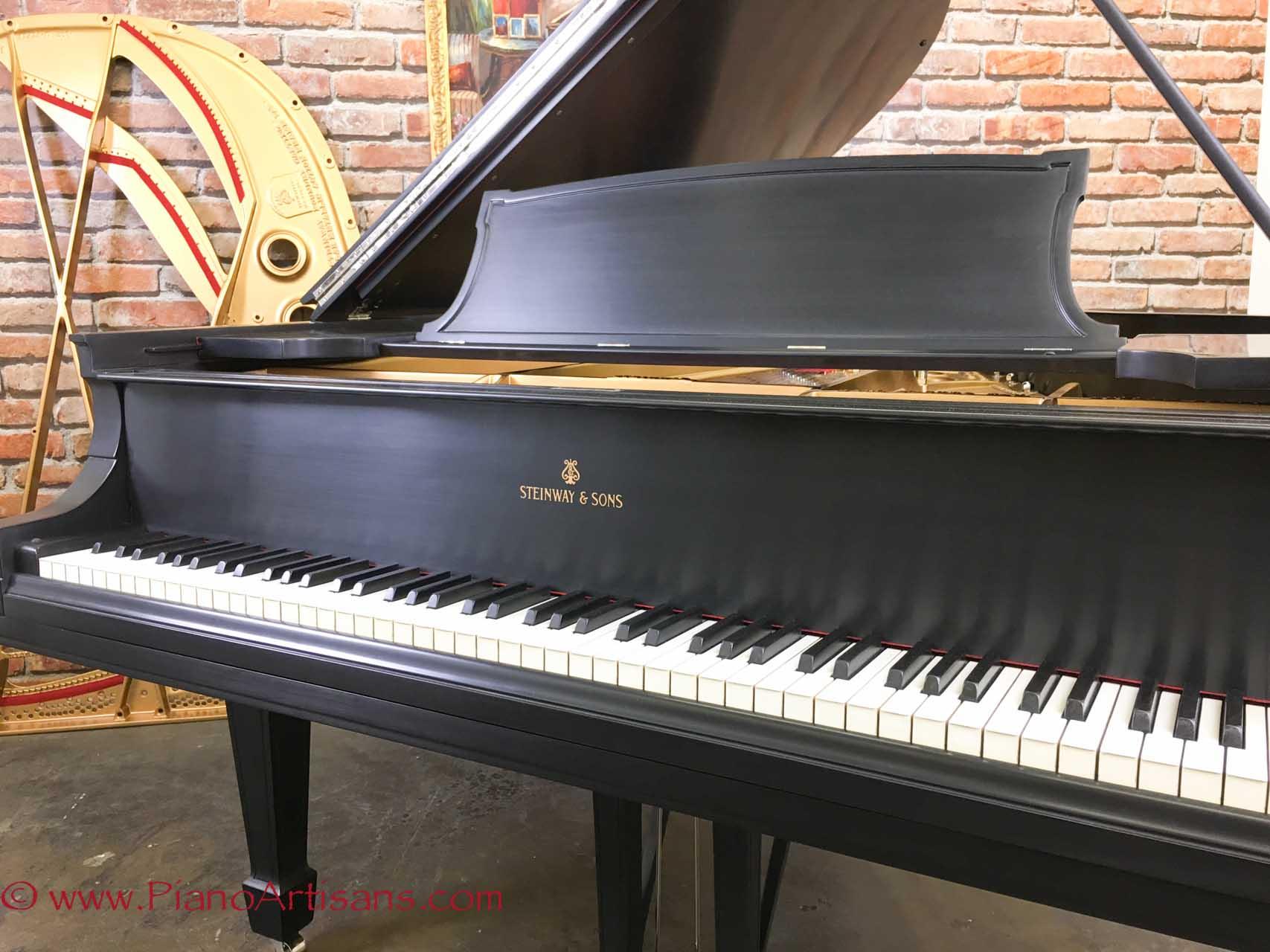 steinway grand piano model o ebony 1922 perfectly restored 38 500. Black Bedroom Furniture Sets. Home Design Ideas