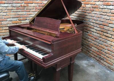 Steinway & Sons, 1922, Fully Restored, Satin Ebony, Model O, Piano Artisans-1