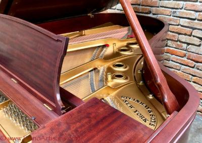 Steinway & Sons, 1922, Fully Restored, Satin Ebony, Model O, Piano Artisans-10