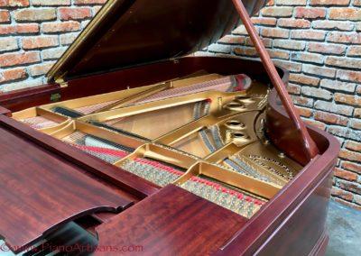 Steinway & Sons, 1922, Fully Restored, Satin Ebony, Model O, Piano Artisans-11