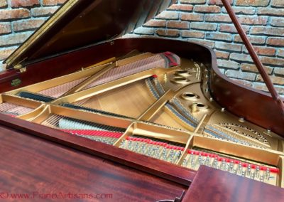 Steinway & Sons, 1922, Fully Restored, Satin Ebony, Model O, Piano Artisans-12
