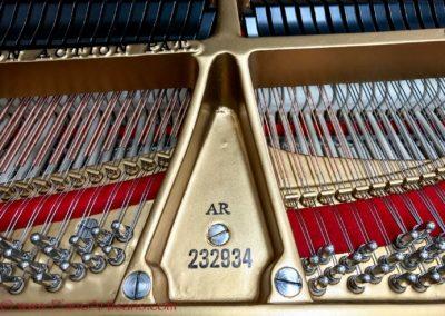 Steinway & Sons, 1922, Fully Restored, Satin Ebony, Model O, Piano Artisans-14