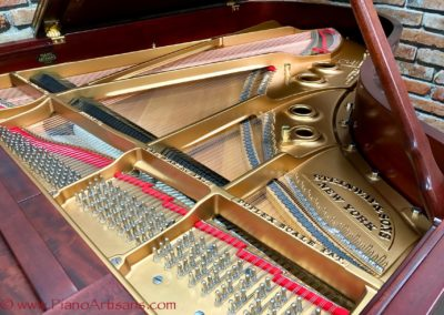 Steinway & Sons, 1922, Fully Restored, Satin Ebony, Model O, Piano Artisans-16