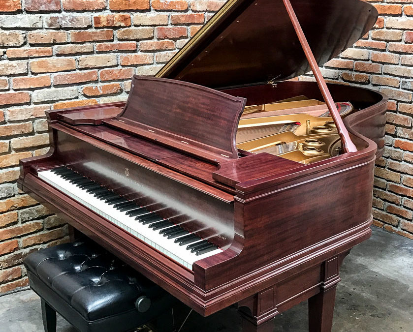 SOLD! Steinway & Sons, Model AR, Reproducing Parlor Grand Piano