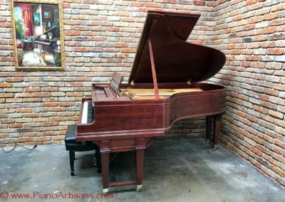 Steinway & Sons, 1922, Fully Restored, Satin Ebony, Model O, Piano Artisans-18