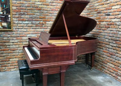 Steinway & Sons, 1922, Fully Restored, Satin Ebony, Model O, Piano Artisans-19