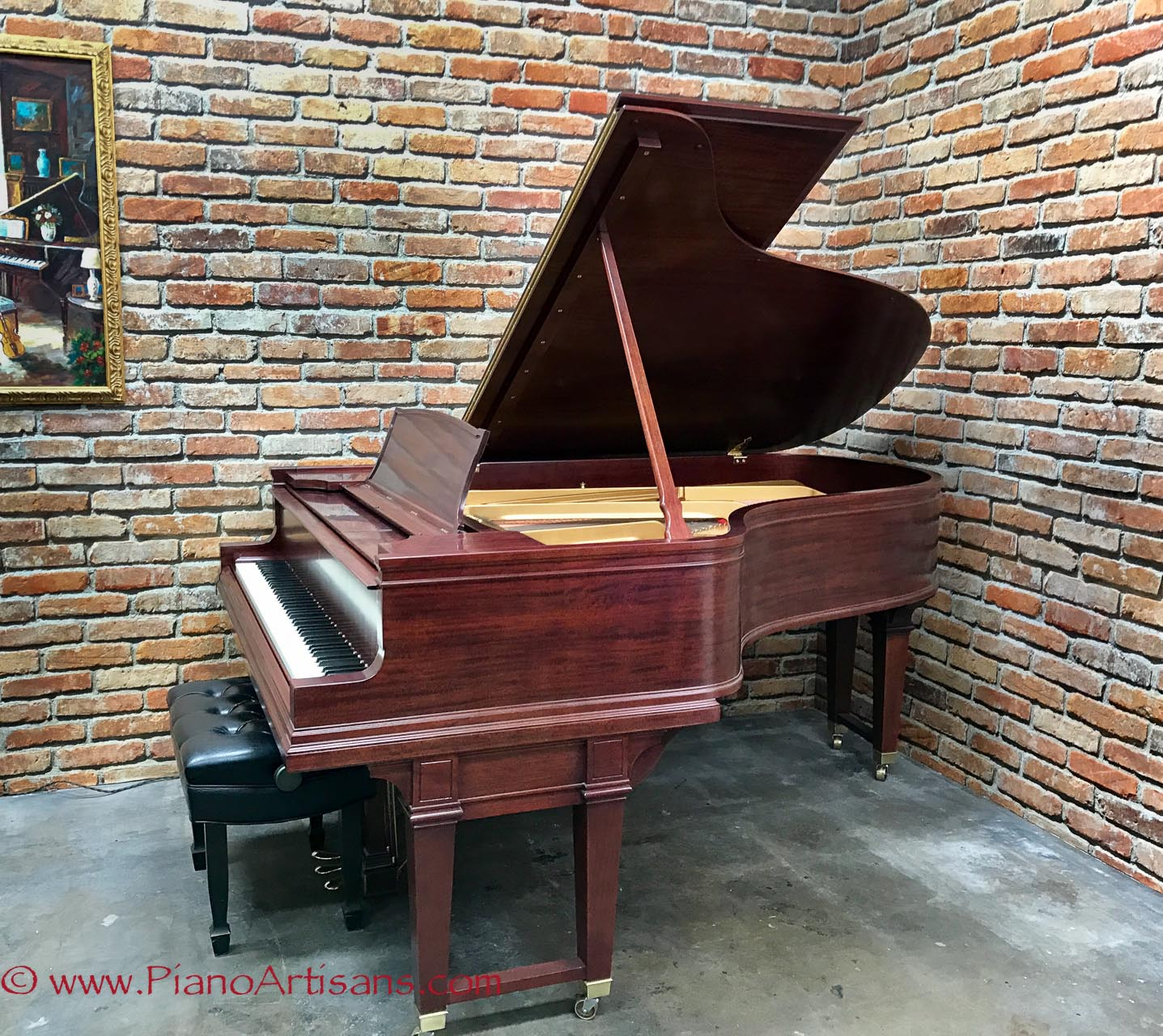 17ade4e51f06 Restored Steinway Player Piano