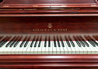 Steinway & Sons, 1922, Fully Restored, Satin Ebony, Model O, Piano Artisans-20
