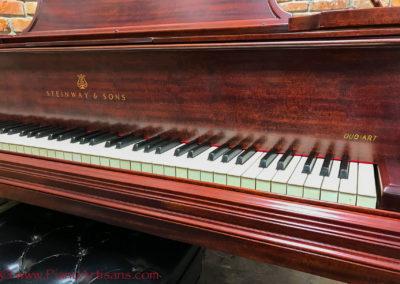 Steinway & Sons, 1922, Fully Restored, Satin Ebony, Model O, Piano Artisans-21
