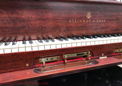 Steinway & Sons, 1922, Fully Restored, Satin Ebony, Model O, Piano Artisans-22