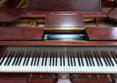 Steinway & Sons, 1922, Fully Restored, Satin Ebony, Model O, Piano Artisans-24