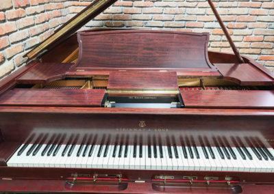 Steinway & Sons, 1922, Fully Restored, Satin Ebony, Model O, Piano Artisans-25