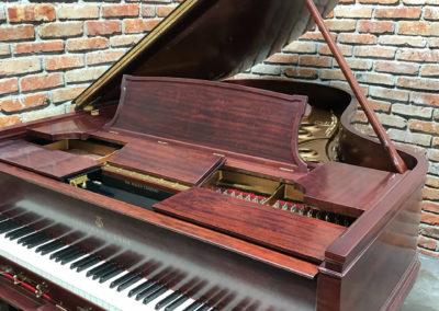 Steinway & Sons, 1922, Fully Restored, Satin Ebony, Model O, Piano Artisans-26