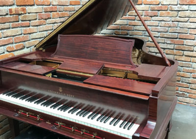 Steinway & Sons, 1922, Fully Restored, Satin Ebony, Model O, Piano Artisans-27