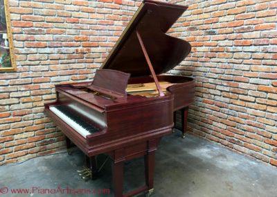 Steinway & Sons, 1922, Fully Restored, Satin Ebony, Model O, Piano Artisans-4