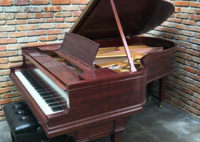 Steinway & Sons, 1922, Fully Restored, Satin Ebony, Model O, Piano Artisans-7