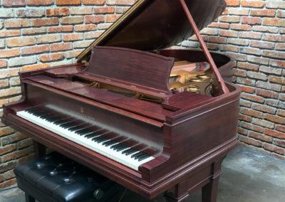 Steinway & Sons, 1922, Fully Restored, Satin Ebony, Model O, Piano Artisans-8