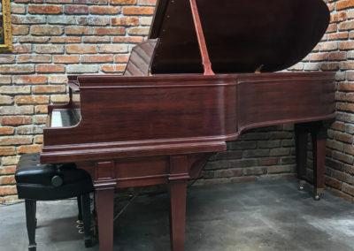 Steinway & Sons, 1922, Fully Restored, Satin Ebony, Model O, Piano Artisans-9