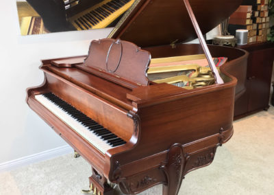 Restored Steinway & Sons Duo-Art Reproducing Player Piano, Louis Case, American Walnut, 1927, Fully Restored