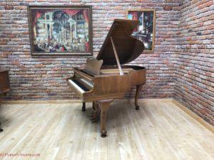 Original Hamburg Steinway , baby grand piano, front view