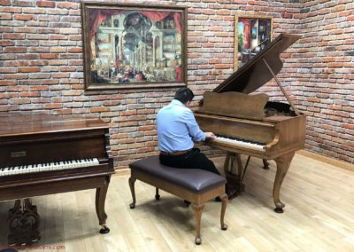 Hamburg Steinway & Sons, Model S, 1936, Original Condition