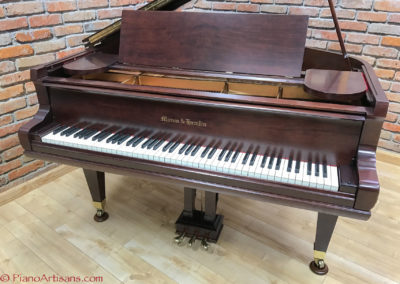 Mason & Hamlin, 1928, Model AA, Walnut, Satin Finish Varnish-4