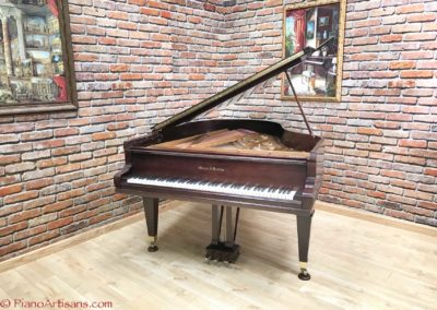 Mason & Hamlin, 1928, Model AA, Walnut, Satin Finish Varnish-7